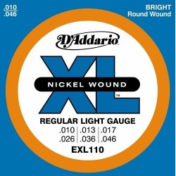 EXL-110 D'ADDARIO struny do...