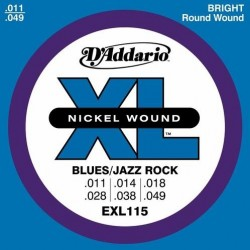D'ADDARIO EXL-115 struny do...
