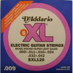 SXL-120 D'ADDARIO struny do...