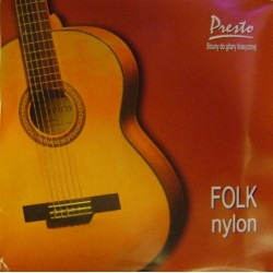 PRESTO FOLK NYLON struny do...