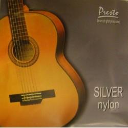 SILVER NYLON PRESTO struny...