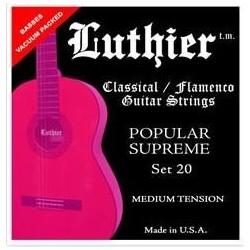 LUTHIER 20 struny do gitary...