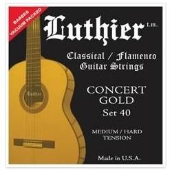 LUTHIER 40 struny do gitary...
