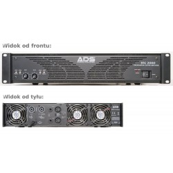 ADS HXI 2000 amplifier