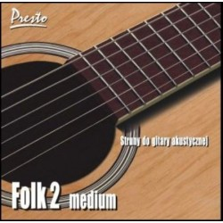 PRESTO FOLK-2 struny do...
