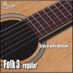FOLK-3 PRESTO struny do...