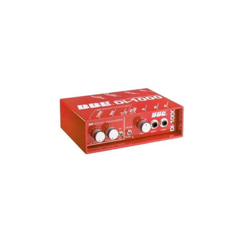 BBE DI 1000 SONIC MAXIMIZER direct box aktywny / pasywny dla gitarzysty ( Di-Box DIBOX )
