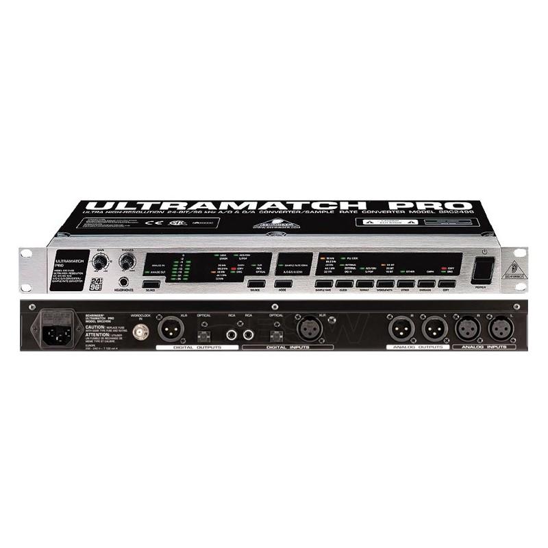 BEHRINGER ULTRAMATCH PRO SRC2496 interfejs konwerter