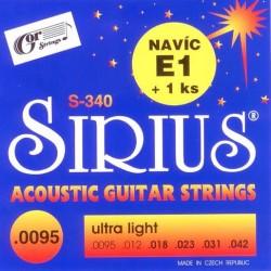 SIRIUS S-340 acoustic...