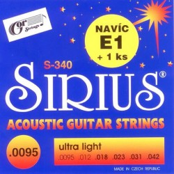 SIRIUS S-340 struny do...