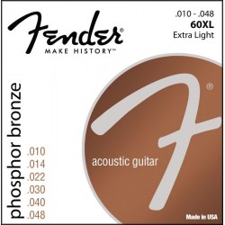 Fender 60XL struny do...