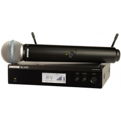 SHURE BLX24RE/B58  system...