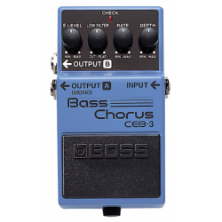 BOSS CEB-3 BASS CHORUS efekt do gitary basowej