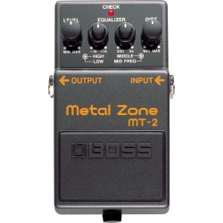 BOSS MT-2 METAL ZONE efekt...