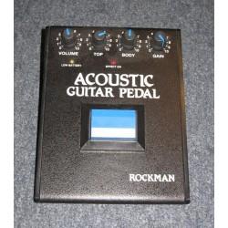 ROCKMAN ACOUSTIC PEDAL...
