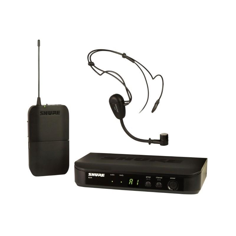 SHURE BLX14E/P31 system bezprzewodowy z mikrofonem nagłownym PGA31