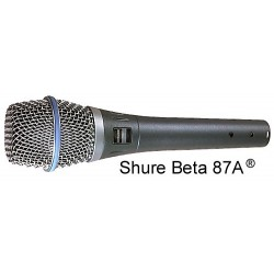 SHURE BETA 87 Mikrofon...