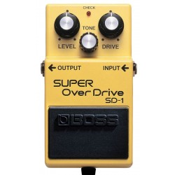 BOSS SD-1 SUPER OVER DRIVE...