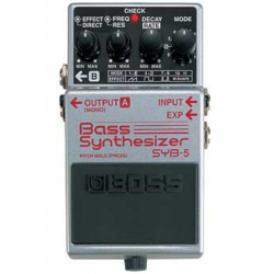 BOSS SYB-5 BASS SYNTHESIZER...