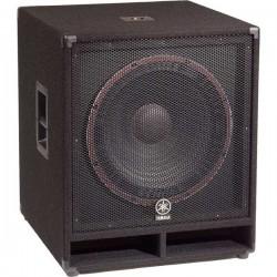 Yamaha SW115V bass column...