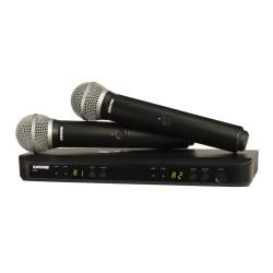 BLX288/SM58 SHURE system bezprzewodowy z mikrofonami do ręki