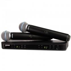 SHURE BLX288E/B58 podwójny system bezprzewodowy z mikrofonami do ręki BETA58