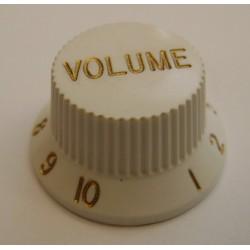 KNOB VOLUME WHITE knob for...