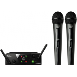 WMS 40 MINI DUAL VOCAL SET