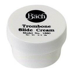 Bach cream for trombone zipper