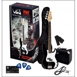 VGS RCB-100 BK Bass Guitar-SET