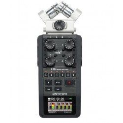 ZOOM H6 digital audio recorder