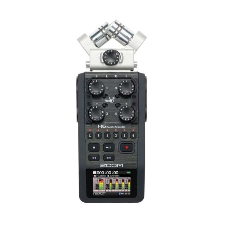 ZOOM H6 rejestrator cyfrowy audio