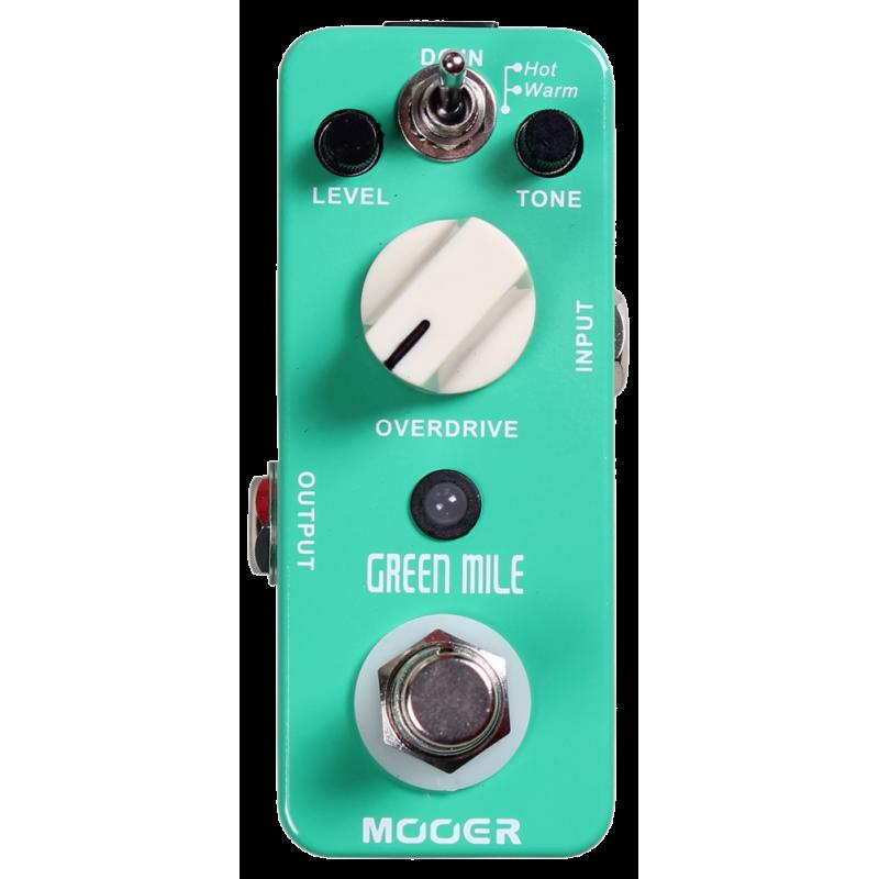 Efekt gitarowy MOOER Green Mile Overdrive MOD1