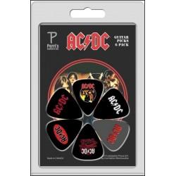 PERRIS LP-ACDC1 zestaw kostek gitarowych