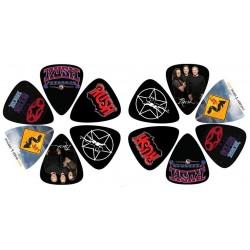 PERRIS LP-12-RUSH-1 zestaw kostek gitarowych