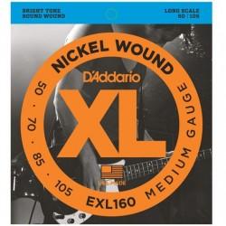 D'ADDARIO EXL-160 bass strings