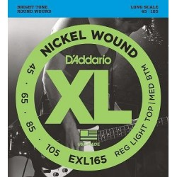 D'ADDARIO EXL-165 bass strings