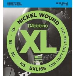 D'ADDARIO EXL-165 bass strings