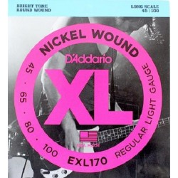 D'ADDARIO EXL-170 bass strings