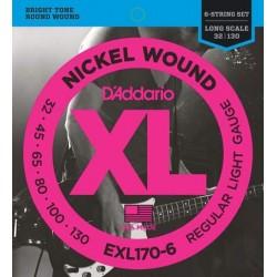 D'ADDARIO EXL-170-6 strings...
