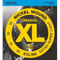D'ADDARIO EXL-180 bass strings