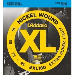 D'ADDARIO EXL-180 bass strings