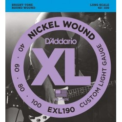 EXL-190 D'ADDARIO struny do...