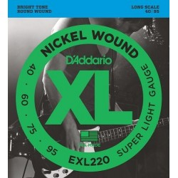 D'ADDARIO EXL-220 bass strings