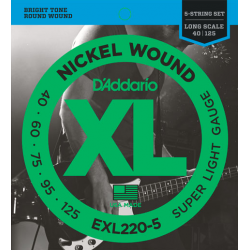 D'ADDARIO EXL-220-5 strings...