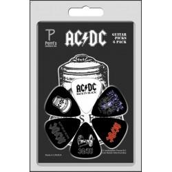 PERRIS LP-ACDC3 zestaw kostek gitarowych