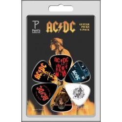 PERRIS LP-ACDC4 zestaw kostek gitarowych