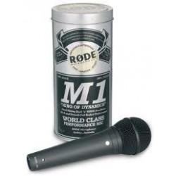 RODE M1 condenser microphone