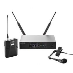 SHURE QLXD14E/98H profesjonalny cyfrowy system bezprzewodowy z mikrofonem instrumentalnym dla instrumentów dętych BETA 98H