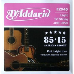 D'ADDARIO EZ-940 strings...